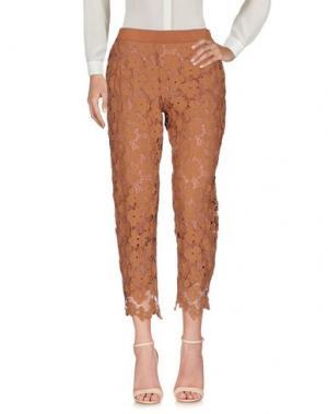 Повседневные брюки ANNA RACHELE JEANS COLLECTION. Цвет: телесный