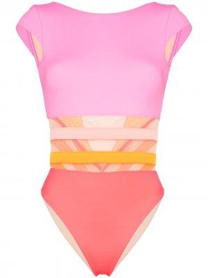 Zenaya short-sleeve swimsuit Agent Provocateur