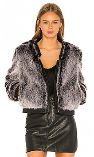 Куртка ashbey J Brand. Цвет: серый