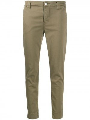Зауженные брюки Paz J Brand. Цвет: зеленый