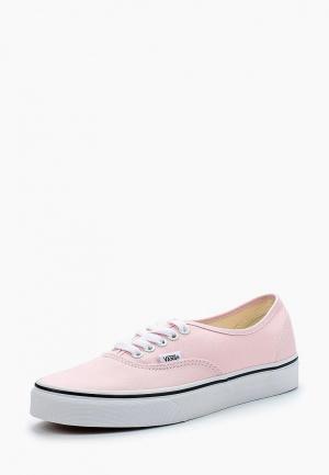 Кеды Vans AUTHENTIC. Цвет: розовый