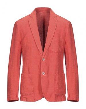 Пиджак 120%. Цвет: оранжевый