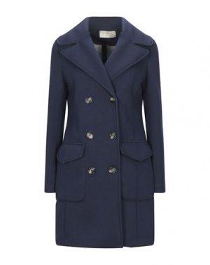 Легкое пальто KAOS JEANS. Цвет: темно-синий