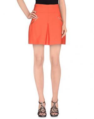 Мини-юбка BETTY BLUE. Цвет: оранжевый