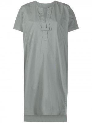 Платье-рубашка с короткими рукавами Closed. Цвет: зеленый