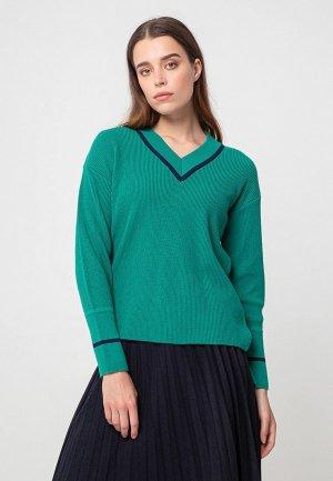 Пуловер BGN. Цвет: зеленый