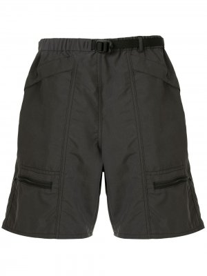 Шорты карго свободного кроя Battenwear. Цвет: серый