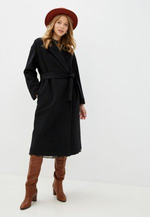 Пальто Geox. Цвет: черный