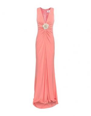 Длинное платье FOREVER UNIQUE. Цвет: лососево-розовый