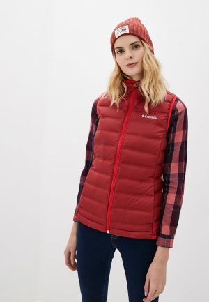 Жилет утепленный Columbia Lake 22™ Down Vest. Цвет: красный