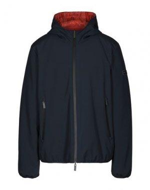 Куртка BREKKA. Цвет: темно-синий