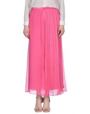 Длинная юбка BEAYUKMUI. Цвет: фуксия