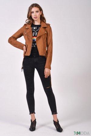 Модные джинсы Alcott. Цвет: чёрный
