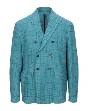 Пиджак 120%. Цвет: цвет морской волны
