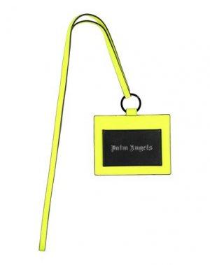Чехол для документов PALM ANGELS. Цвет: желтый