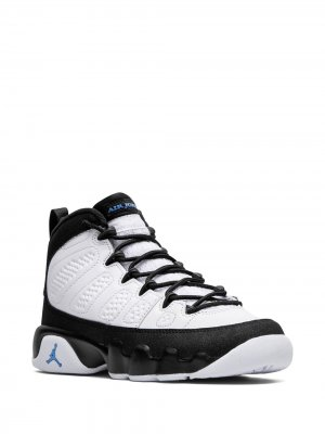 Кроссовки Air Jordan 9 Retro Nike Kids. Цвет: белый