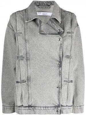 Джинсовая куртка Noumi IRO. Цвет: серый