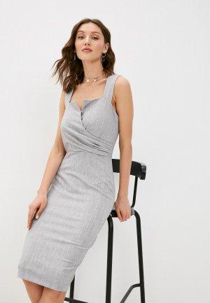 Платье Love Republic Exclusive online. Цвет: серый