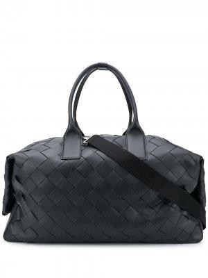 Дорожная сумка Bottega Veneta. Цвет: черный