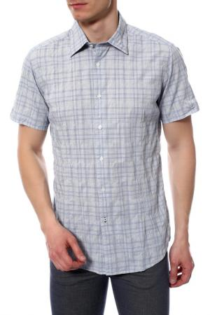 Рубашка Guess by Marciano. Цвет: голубой