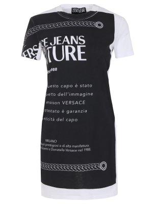 Платье-футболка VERSACE JEANS COUTURE