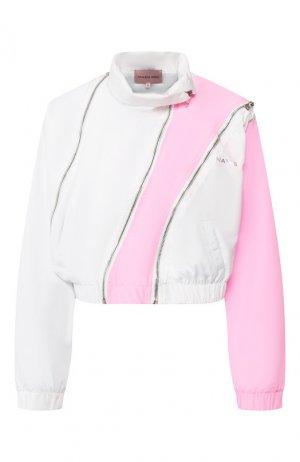 Бомбер Natasha Zinko. Цвет: розовый