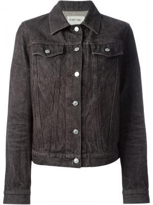 Классическая джинсовая куртка Helmut Lang Pre-Owned. Цвет: серый