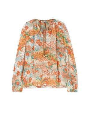 Блузка ELIZABETH AND JAMES. Цвет: светло-серый