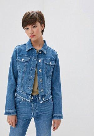 Куртка джинсовая Hugo Gessina/1. Цвет: голубой