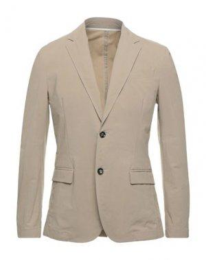 Пиджак PAOLO PECORA. Цвет: серый
