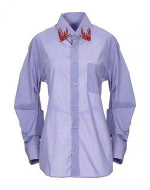 Pубашка B2. Цвет: сиреневый
