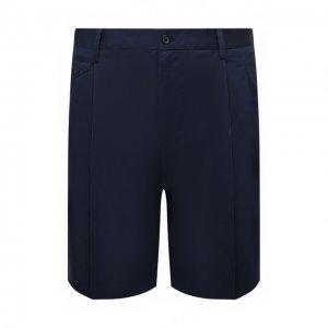 Хлопковые шорты Dolce & Gabbana. Цвет: синий