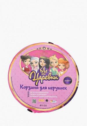 Корзина Играем Вместе для игрушек, 43х60 см. Цвет: разноцветный