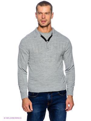 Пуловер Davani. Цвет: светло-серый