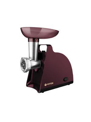 Мясорубка VITEK 3612(BN), мощность 1700 Вт, номинальная 300 вт.. Цвет: коричневый