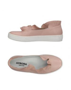 Балетки AURORA. Цвет: розовый