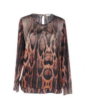 Блузка HOLLY GOLIGHTLY. Цвет: верблюжий