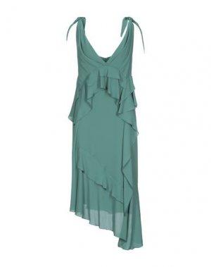 Платье длиной 3/4 HANITA. Цвет: зеленый
