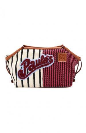 Текстильная косметичка x Paulas Ibiza Loewe. Цвет: разноцветный