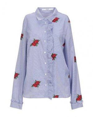 Pубашка GUESS. Цвет: темно-синий