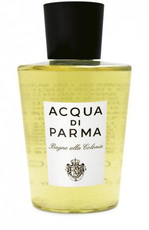 Гель для ванны и душа Colonia Acqua di Parma. Цвет: бесцветный