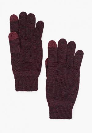 Перчатки Only & Sons. Цвет: бордовый