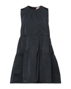 Короткое платье N°21. Цвет: черный
