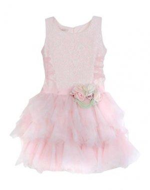 Платье LADIA. Цвет: светло-розовый