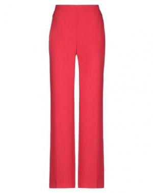 Повседневные брюки ELIE TAHARI. Цвет: красный