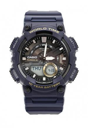 Часы Casio Collection AEQ-110W-2A. Цвет: синий
