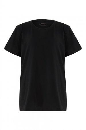 Черная футболка Annax Isabel Marant. Цвет: черный