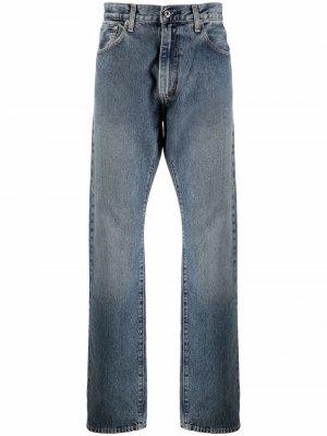 Levis: Made & Crafted прямые джинсы 551Z Levi's:. Цвет: синий