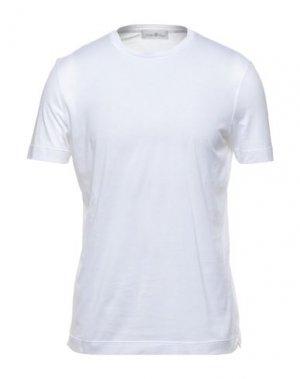 Футболка DELLA CIANA. Цвет: белый