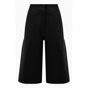 Кожаные шорты Ines&Marechal. Цвет: чёрный